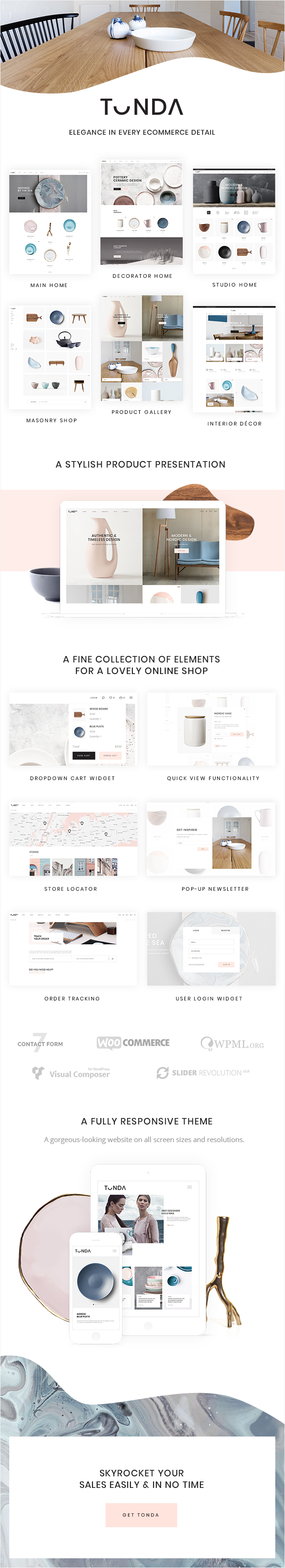 WordPress theme Tonda - A Modern, Elegant WooCommerce Theme (WooCommerce)
